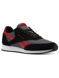 Кроссовки REEBOK ROYAL CL JOG BLACK/ASH GRY/P.RED/ Reebok