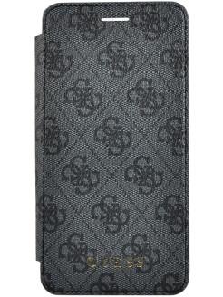 Чехол для iPhone 7/8 4G Charms collection Booktype Grey GUESS