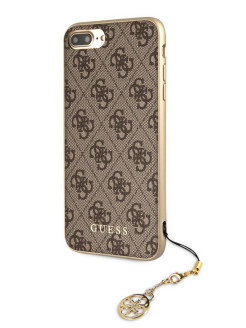 Чехол Guess для iPhone 7 Plus/8 Plus 4G Charms collection Hard Brown GUESS
