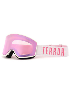Маска TERROR SNOW - SPECTRUM WHITE PINK (one size) TRSNOW