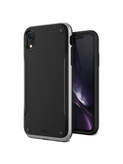 Чехол High Pro Shield для iPhone XR Steel Silver VRS Design