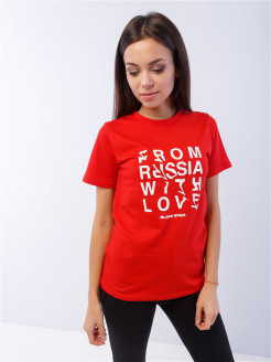 Футболка RUSSIA BS Black Star Wear