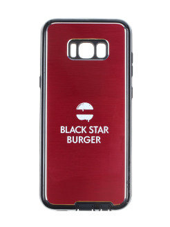 Чехол Samsung S8 plus BLACK STAR BURGER