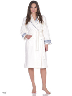 Dressing gown female Asel Ecocotton