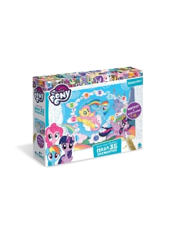 Пазл 35 гигантских элементов. Пони. NEW. Облачный замок My Little Pony