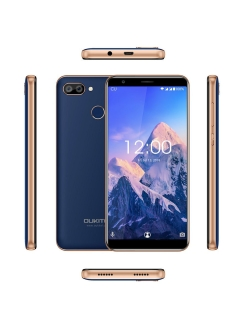 Смартфон C11 Pro: 5,5'' 1440x720/IPS MT6739 3Gb/16Gb 8+2Mp/2Mp 3400mAh Oukitel