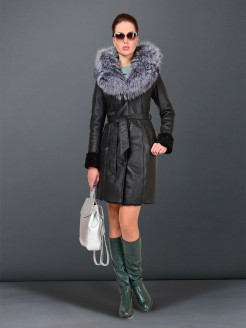 Sheepskin coat GRAFINIA