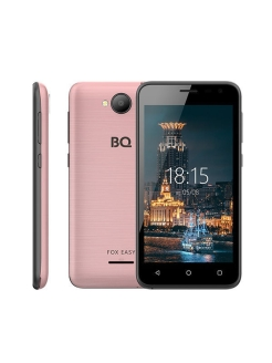 Смартфон 4501G FOX EASY: 4,5'' 854x480/TN MT6580M 512Mb/8Gb 5Mp/2Mp 1800mAh BQ.