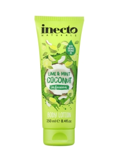 Лосьон для тела с лаймой и мятой  /  Inecto Infusions Lime and Mint Coconut Body Lotion Inecto