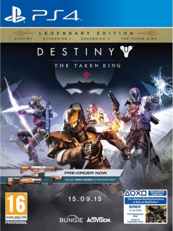 Destiny: The Taken King. Legendary Edition [PS4, английская версия] Activision