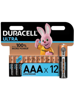 Батарейки LR03-12BL Ultra Power DURACELL
