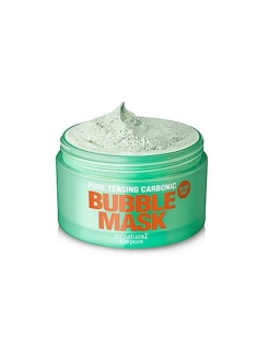 Глиняно-кислородная маска Pore Tensing Carbonic Bubble Pop Clay Mask (130 г.) So Natural