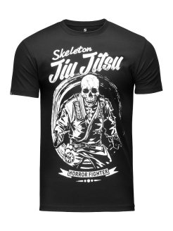 Футболка Skeleton Jiu Jitsu Black Athletic pro.