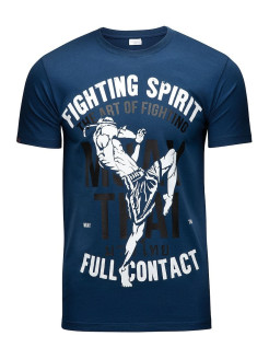 Футболка Muay Thai Fighting Spirit Blue Athletic pro.