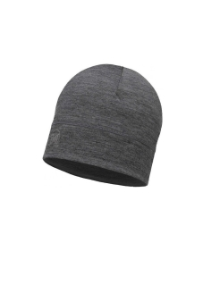 Шапка Buff LIGHTWEIGHT MERINO WOOL HAT SOLID GREY Buff