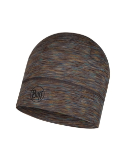 Шапка LIGHTWEIGHT MERINO WOOL HAT FOSSIL MULTI STRIPES Buff