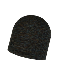 Шапка Buff MIDWEIGHT MERINO WOOL HAT FOSSIL MULTI STRIPES Buff