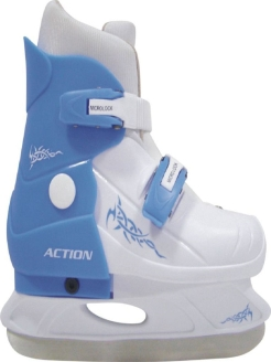 Ice skates, curly Action.