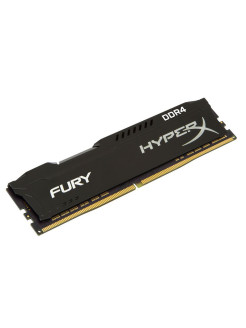 Модуль памяти DDR4 DIMM 8Гб 2400MHz CL15, HyperX FURY Kingston