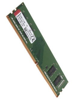 Модуль памяти DDR4 DIMM 4Гб 2400MHz Non-ECC 1Rx16 CL17 Kingston
