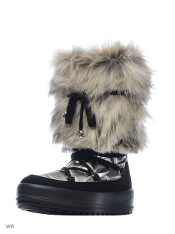 Fur high boots Jog Dog