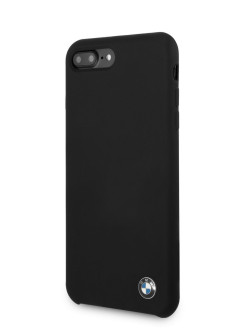 Чехол для iPhone 7 Plus/8 Plus Signature Liquid silicone Hard Black BMW
