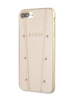 Чехол для iPhone 7 Plus/8 Plus KAIA collection Hard Gold GUESS