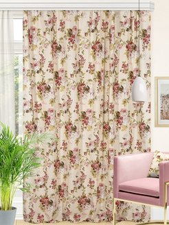 Interior curtains, curtains on the curtain tape Altali