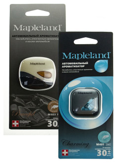 Ароматизатор для авто MAPLELAND M403 PEACEFUL, M401 CHARMING (комплект из 2 шт) PROFFI