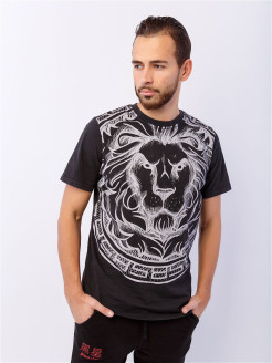 Футболка LION INK Black Star Wear