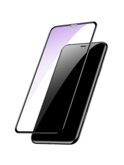 Защитное стекло Apple iPhone X Baseus Arc-surface Black 0.3mm BASEUS