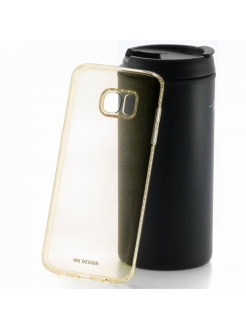 Чехол-накладка Samsung Galaxy S7 WK Diamond Gold WK