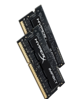 Комплект памяти DDR3L SODIMM 8Гб (2х4Гб) 1866MHz CL11, HyperX Impact Kingston