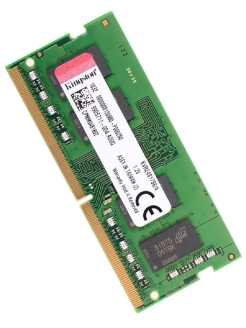 Модуль памяти DDR4 SODIMM 4Гб 2400MHz Non-ECC 1Rx16 CL17 Kingston