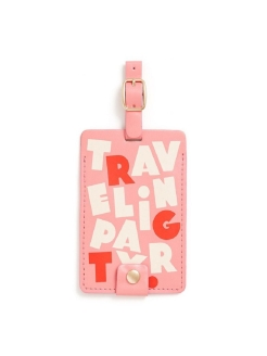 Бирка для багажа luggage tag, Traveling party ban.do