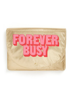 Папка для ноутбука logged on laptop sleeve, forever busy ban.do