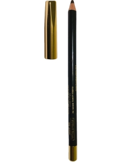 Деревянный карандаш для глаз PROFESSIONAL EYELINER PENCIL NO.23 BLACK BROWN, 2.9 г MIKATVONK