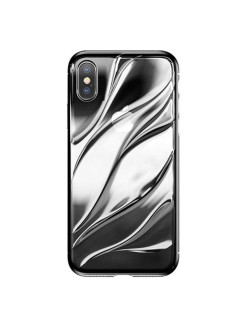 Чехол-накладка Apple iPhone X Water Modelling Transparent BASEUS
