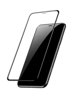 Защитное стекло Apple iPhone X Baseus Glass Film Edge Black 0.3mm BASEUS