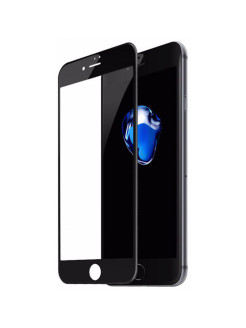 Защитное стекло Apple iPhone 7 Baseus Glass Film Black 0.23mm BASEUS