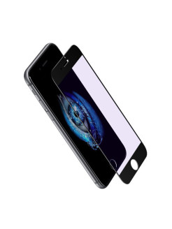 Защитное стекло Apple iPhone 7 Plus Baseus Silk Screen Printed Blue Light Black 0.2mm BASEUS