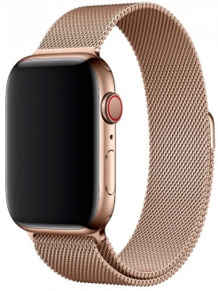 Ремешок для Apple Watch 42 мм Dark Gold Karmaso