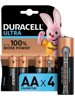 Батарейки LR6-4BL Ultra Power DURACELL