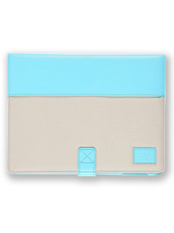 Чехол More Pastel Collection для Apple iPad 3 / iPad 4 / iPad 2 - Baby Blue/Light Beige More