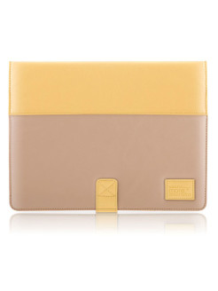 Чехол More Pastel Collection для Apple iPad 3 / iPad 4 / iPad 2 - Yellow/Dark Beige More