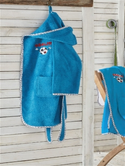 Funny Football Robe Ecocotton