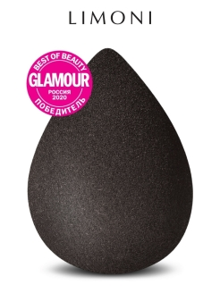 "Спонж для макияжа ""Blender Makeup Sponge"" Black Limoni"