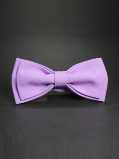 Bow tie CHILDREN lilac in kraft box BLACKBOW