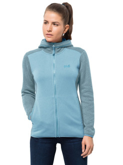Кофта ELK HOODED JACKET WOMEN Jack Wolfskin