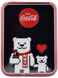 Набор Coca-Cola Annual Tin- Pixel 6шт, 6х4гр Lip Smacker